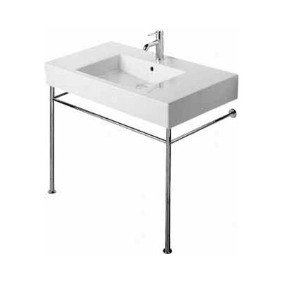 Bathroom Sink Legs : source Metal Bathroom Console Sink with Legs