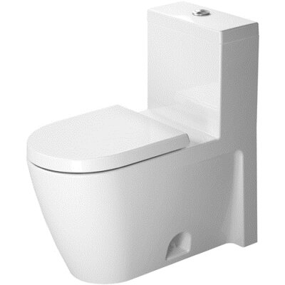 Duravit Starck 2 1.28 GPF Elongated 1 Piece Toilet