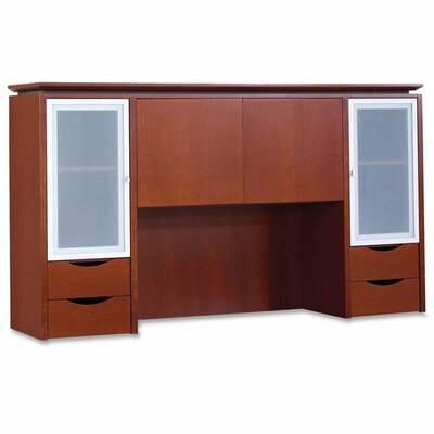 Rudnick Four Door Hutch,70&quot;x14&quot;x39&quot;,Cherry