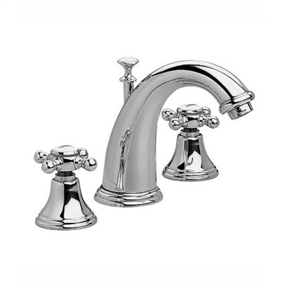 Jado Classic Widespread Bathroom Faucet with Double Cross Handles