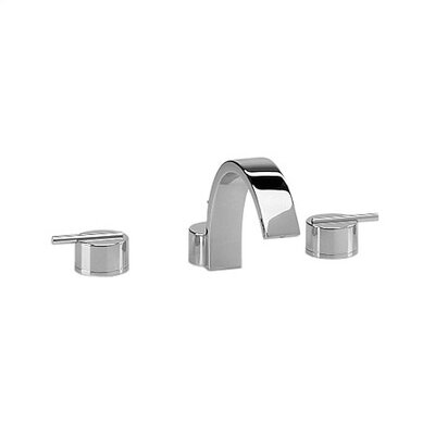 Jado Glance Double Handle Deck Mount Roman Tub Faucet Set Lever Handle
