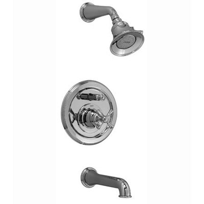 Jado Hatteras Pressure Balance Diverter Tub and Shower Faucet