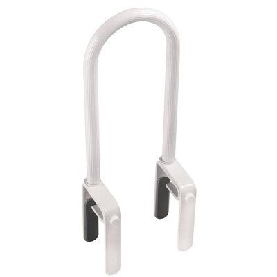 Franklin Brass High Profile Bathtub Safety Bar in White