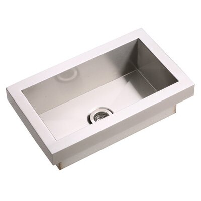 "Elkay Asana 16"" x 16"" Top Mount Kitchen Sink"