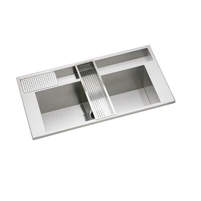 "Elkay Avado 40"" x 22"" Package Kitchen Sink"
