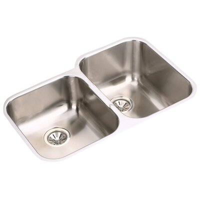 "Elkay Gourmet 31.25"" x 20.5"" Right Side Kitchen Sink"