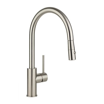 Single Handle Deck Mount Kitchen Faucet with Pulldown Spray