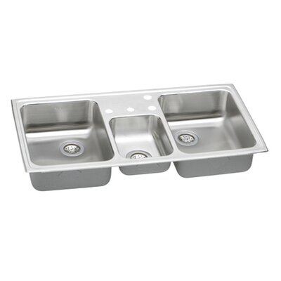 "Elkay Gourmet 43"" x 22"" x 5.25"" Kitchen Sink"