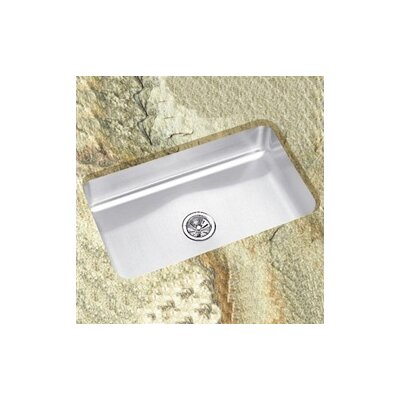 "Elkay Lustertone 30.5"" x 18.5"" Undermount Single Bowl Kitchen Sink"