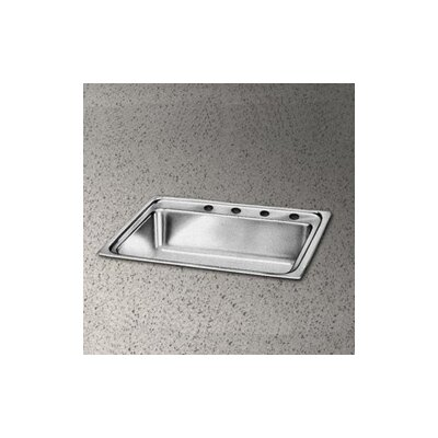 "Elkay Pacemaker 15"" x 17.5"" Single Bowl Sink Set"