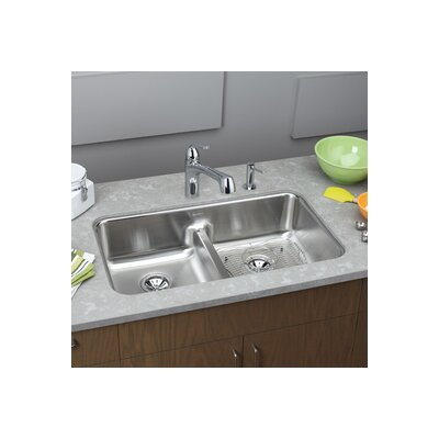 "Elkay Gourmet 32.06"" x 18.5"" x 8"" Undermount Kitchen Sink"