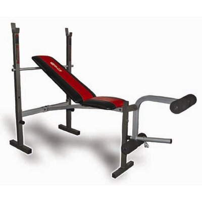 Deluxe Standard Adjustable Olympic Bench