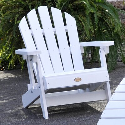 Highwood USA Folding & Reclining Child-Size Adirondack Chair