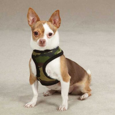 Fabric Camo Dog Harness
