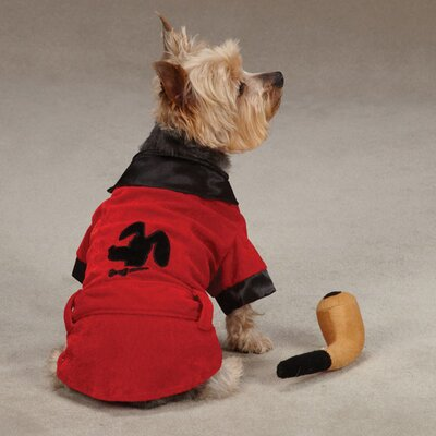 Casual Canine Party Hounds Smoking Dog Jacket Costume