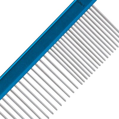 "Master Grooming Tools Aluminum Pet 10"" Finishing Comb"