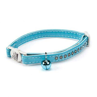 East Side Collection Sparkle Gemstone Cat Collar