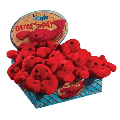 Catch Of The Day Lobster Dog Toy (Pack of 12)