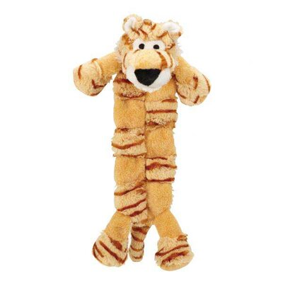Safari Squeaktacular Tiger Dog Toy