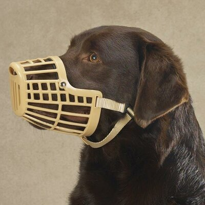 Guardian Gear Basket Dog Muzzle