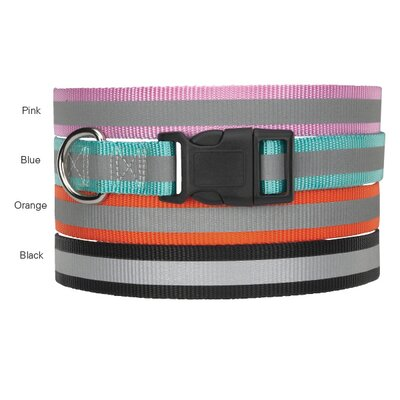 Guardian Gear Reflective Dog Collar in Orange