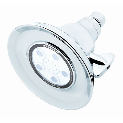 "Speakman Crowne Plaza Hotel Anystream 2000 6 1/4"" Face Diameter Shower Head"