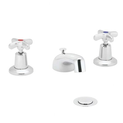 Commander Widespread Bathroom Faucet with Double Cross Handles - SC-3031
