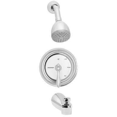 Speakman Sentinel Mark II Anti - Scald Thermostatic Tub and Shower Faucet with Decorative Index