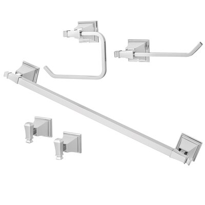 Speakman Rainier 5 Piece Bathroom Hardware Set