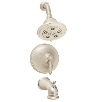 Speakman Alexandria Pressure Balance Valve and Trim Shower Combination and Tub Spout