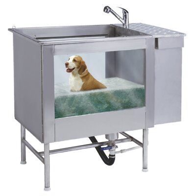 Hydro heal large pet spa wayfair for A bath and a biscuit grooming salon