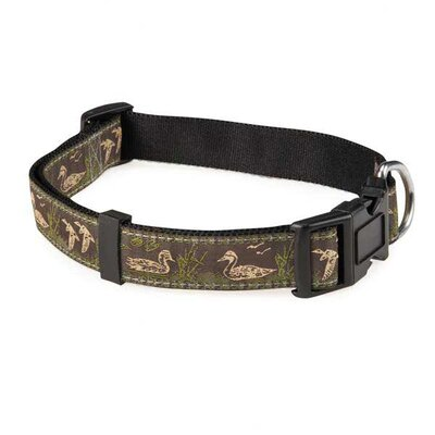 Zack and Zoey Water Ways Mallard Dog Collar