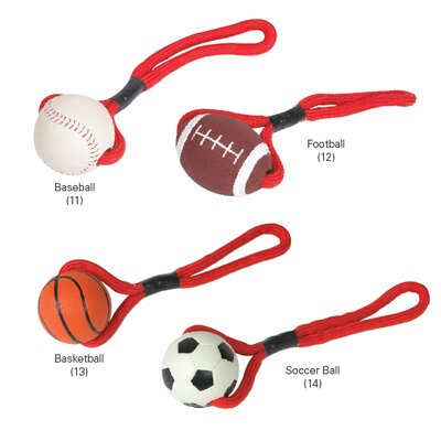 Zanies Sports Tugs Dog Toy