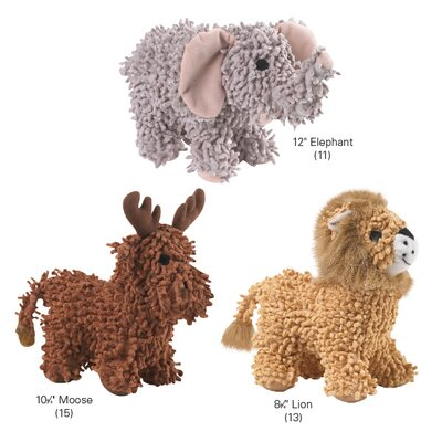 Zanies Curly Crew Dog Toy