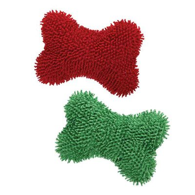 Zanies Happy Holly Bone Dog Toys (108 Pieces)