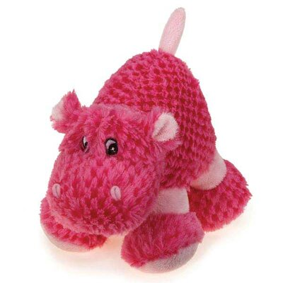 Zanies Huggable Hippo Dog Toy