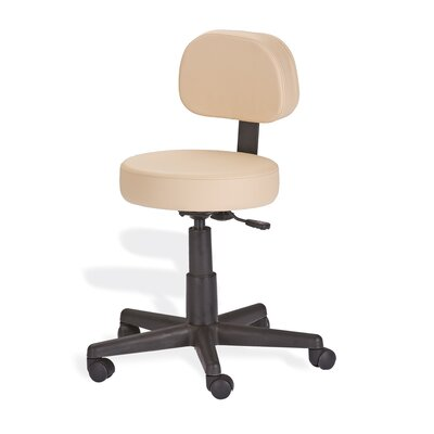 EarthLite Mid-Back Height Adjustable Rolling Drafting Chair