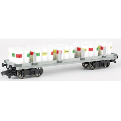 Thomas And Friends Flat Car With Paint Drums Wayfair
