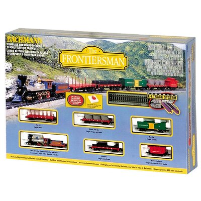Bachmann Trains N Scale Frontiersman Train Set