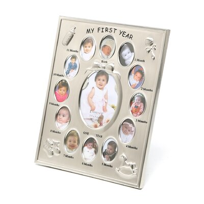 My First Year Multi Picture Frame