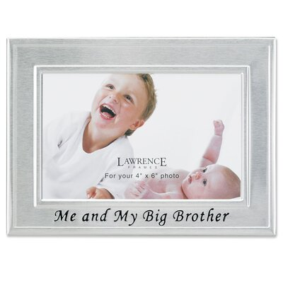 Lawrence Frames Me and My Big Brother Picture Frame