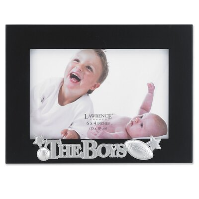 Lawrence Frames Silver Sentiments The Boys Picture Frame