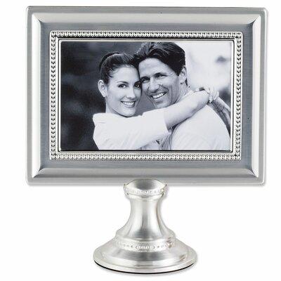 Lawrence Frames Bead Metal Pedestal Picture Frame