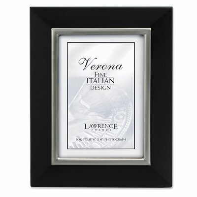 Brushed Pewter Metal Inner Bezel Picture Frame