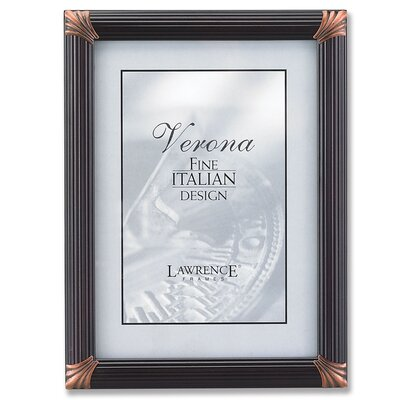 Pinstripe Wood Picture Frame