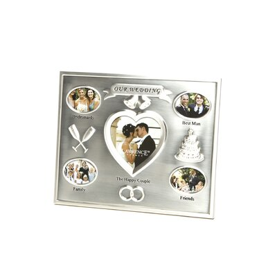 Our Wedding Multi Picture Frame