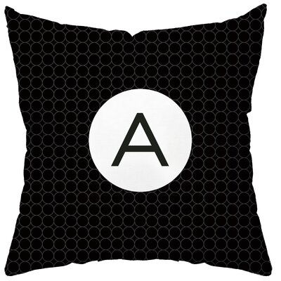 Checkerboard, Ltd Personalized Established Synthetic Throw Pillow
