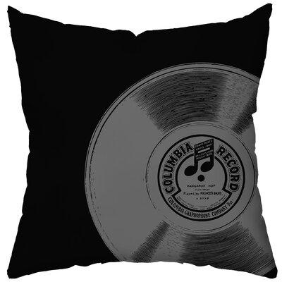 Checkerboard, Ltd Personalized Rock on Poly Cotton Throw Pillow