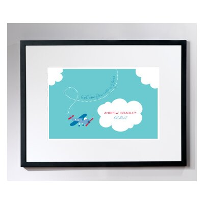 Checkerboard, Ltd Personalized Tiny Skywriter Wall Décor