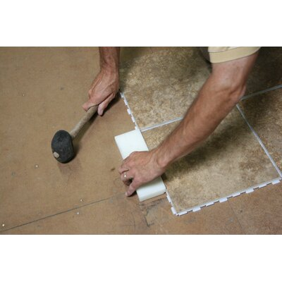 """Avaire Choice 12"""" x 12"""" Porcelain Tile with Interlocking Tray in Pradera"""